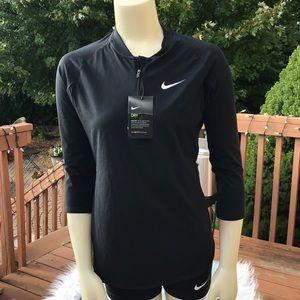 Black Nike 1/4 zip